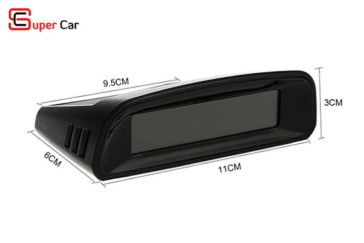 Kích thước màn hình cảm biến áp suất lốp TN401