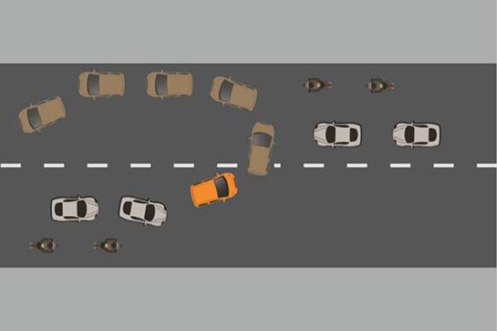 Kỹ thuật quay đầu xe ô tô một cách an toàn