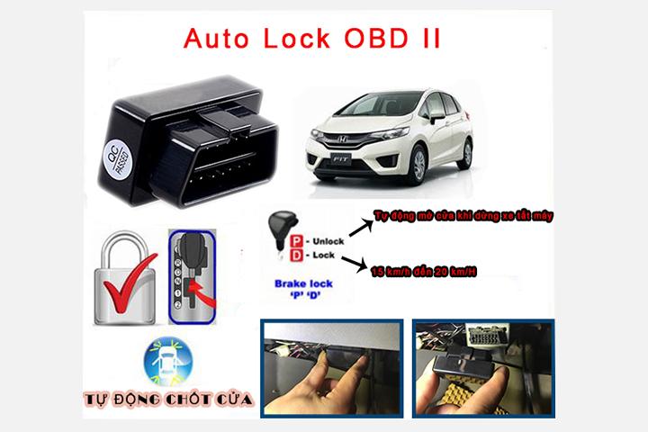 Chức năng của bộ tự động chốt cửa ô tô Auto Lock