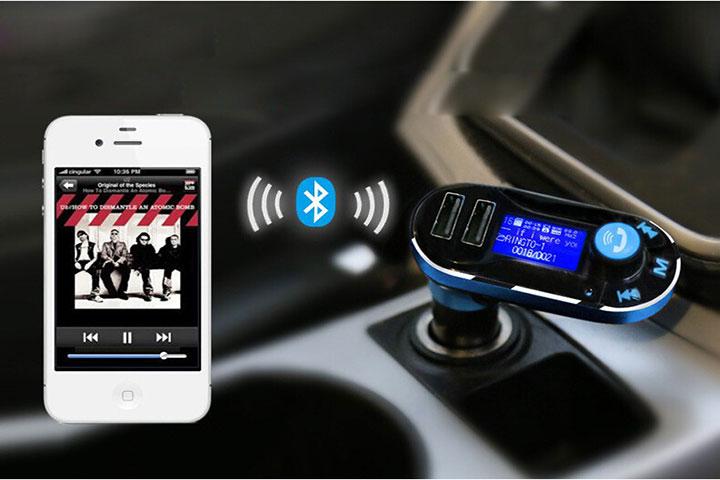 Tẩu BT66 hỗ trợ phát nhạc từ điện thoại qua kết nối Bluetooth