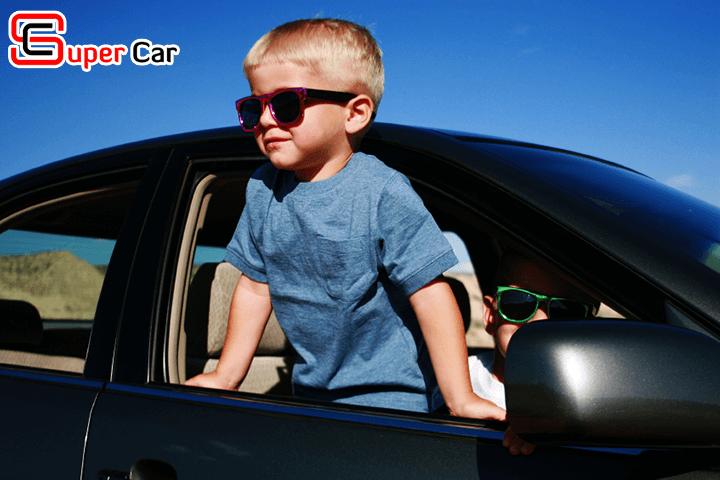 Những điều cần lưu ý khi có trẻ em trên xe