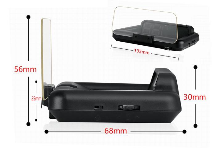 Kích thước sản phẩm HUD C500