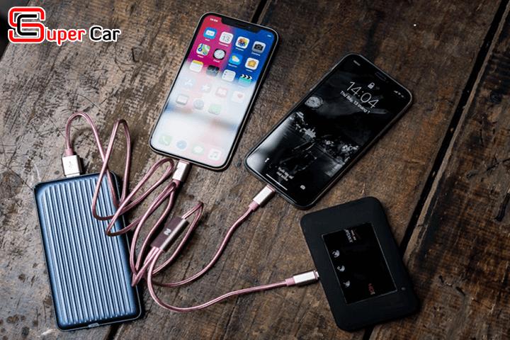 Dây sạc điện thoại đa năng 3 in 1 tiện lợi