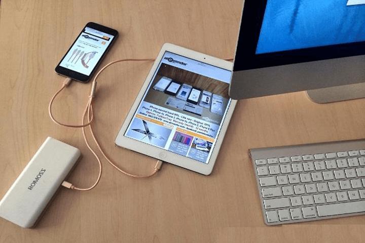 Dây sạc điện thoại đa năng 3 in 1