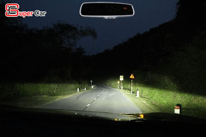 Kinh nghiệm lái xe ô tô khi không có đèn đường
