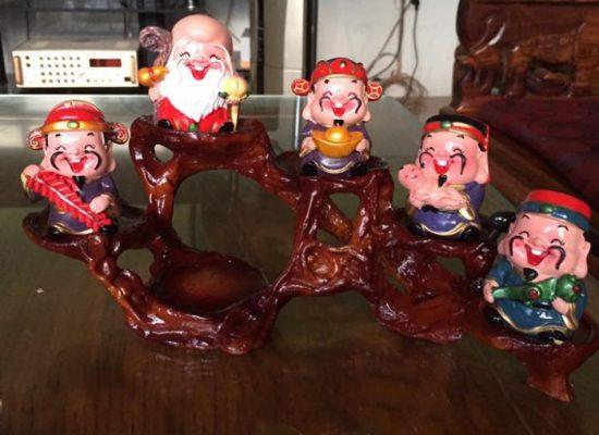 Bộ tượng 5 ông thần tài