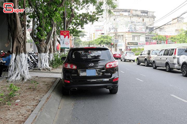 Kỹ năng tấp xe vào lề đường an toàn