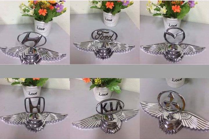 Logo cánh chim thiên thần gắn nắp capo 4