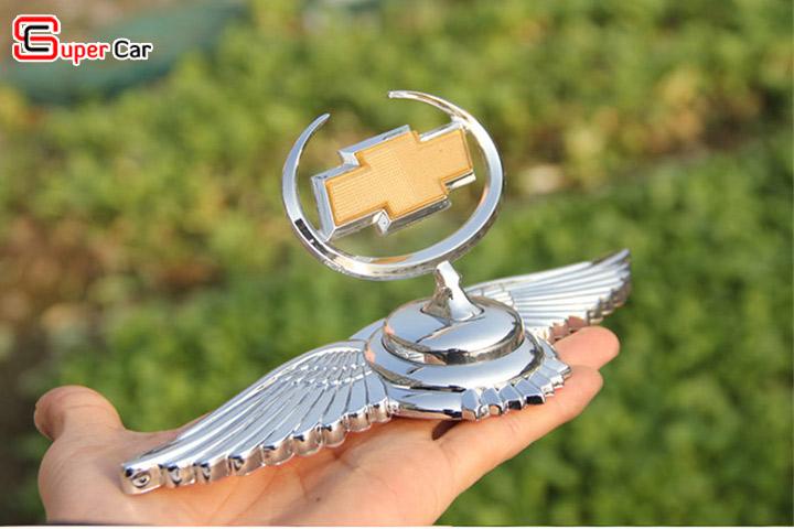 Logo cánh chim thiên thần gắn nắp capo