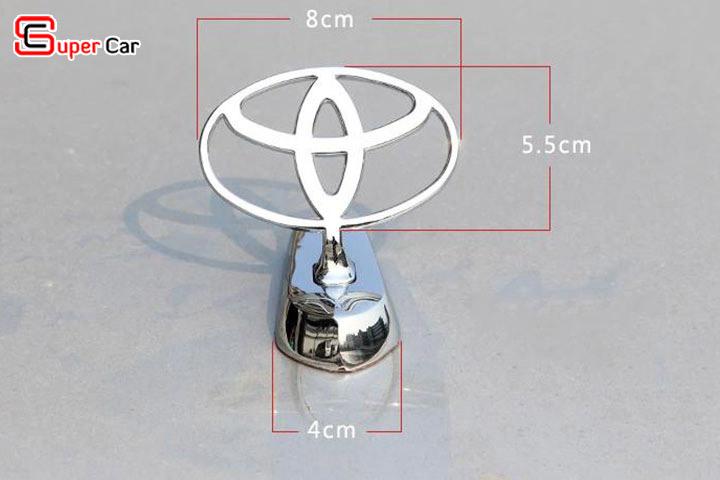 Logo ô tô gắn nắp capo 2
