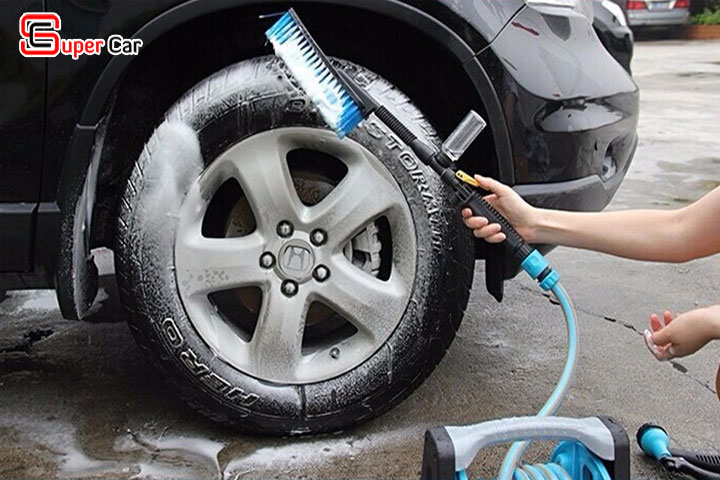 Chổi rửa xe ô tô đa năng 7