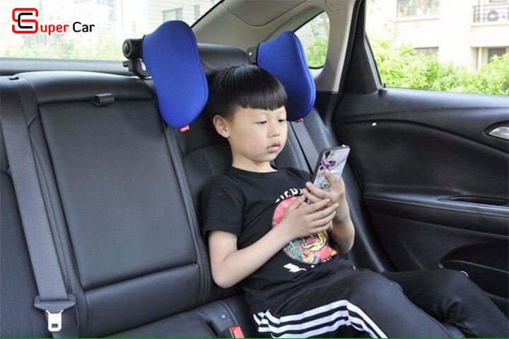 Gối tựa đầu ô tô khi ngủ 3