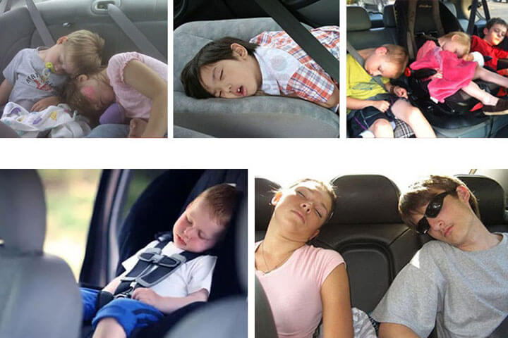 Gối tựa đầu ô tô 2 bên khi ngủ