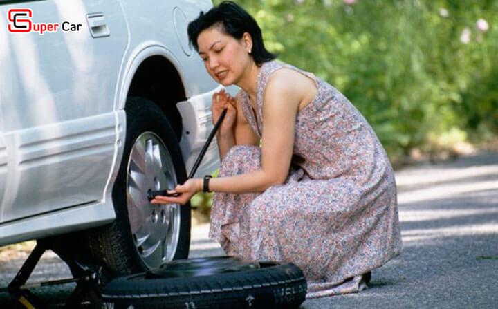 Hướng dẫn thay lốp xe ô tô