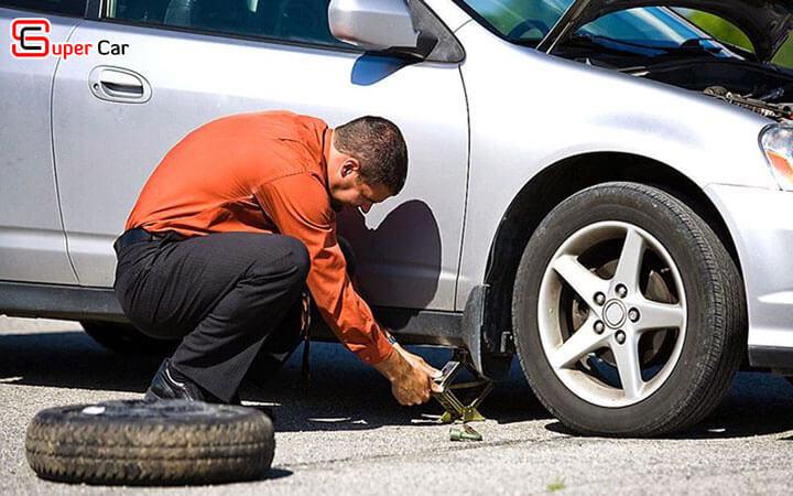 Hướng dẫn thay lốp xe ô tô 3