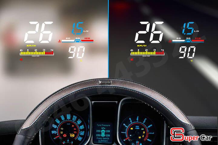 Hiển thị tốc độ HUD D5000 -1