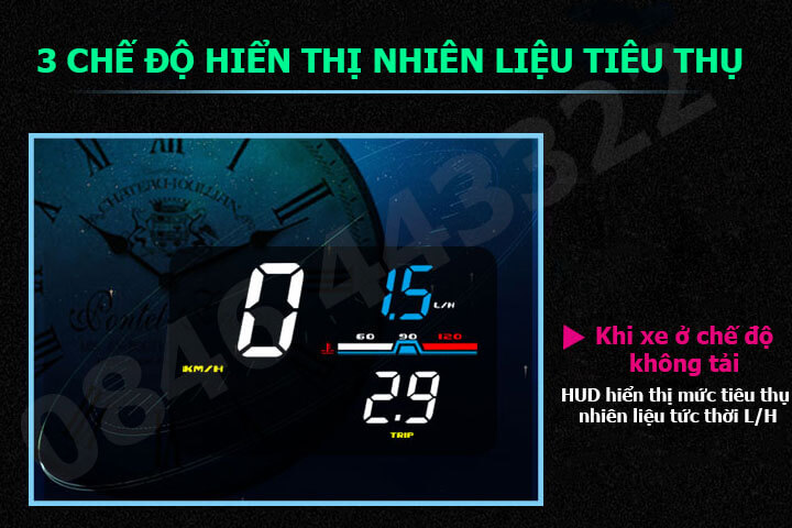 Hiển thị tốc độ HUD D5000 -6