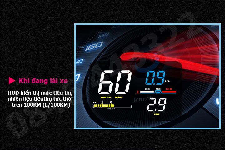 Hiển thị tốc độ HUD D5000 -8