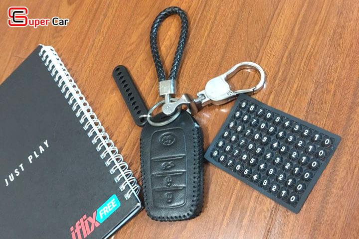 bao da chìa khóa Toyota 1