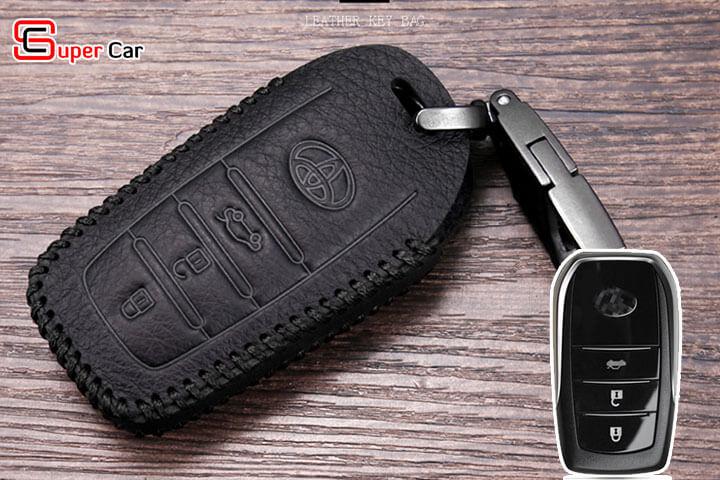 bao da chìa khóa Toyota 4
