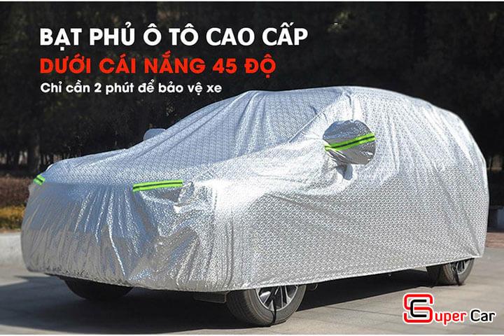 Bạt phủ xe ô tô 3