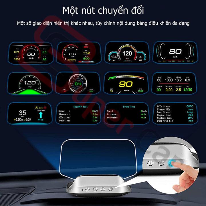 Hiển thị tốc độ HUD C3 9