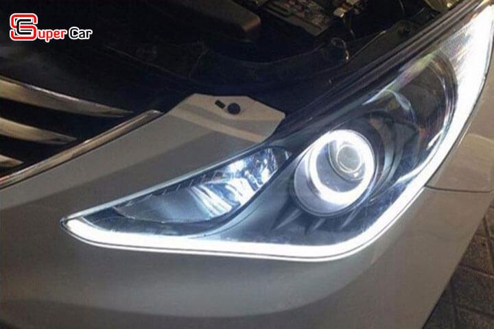 Đèn led mí mắt xe hơi 4