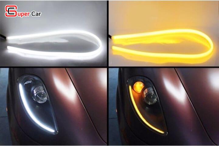 Đèn led mí mắt xe hơi 2