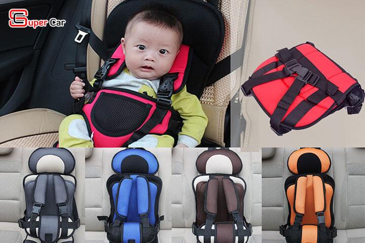 Đai ghế ngồi ô tô an toàn cho bé 6