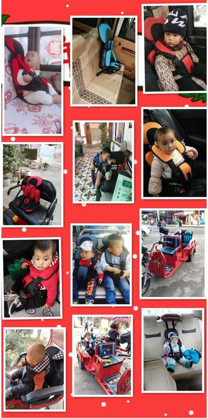 Đai ghế ngồi ô tô an toàn cho bé 7