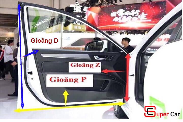 Gioăng cao su chống ồn cho xe ô tô 2