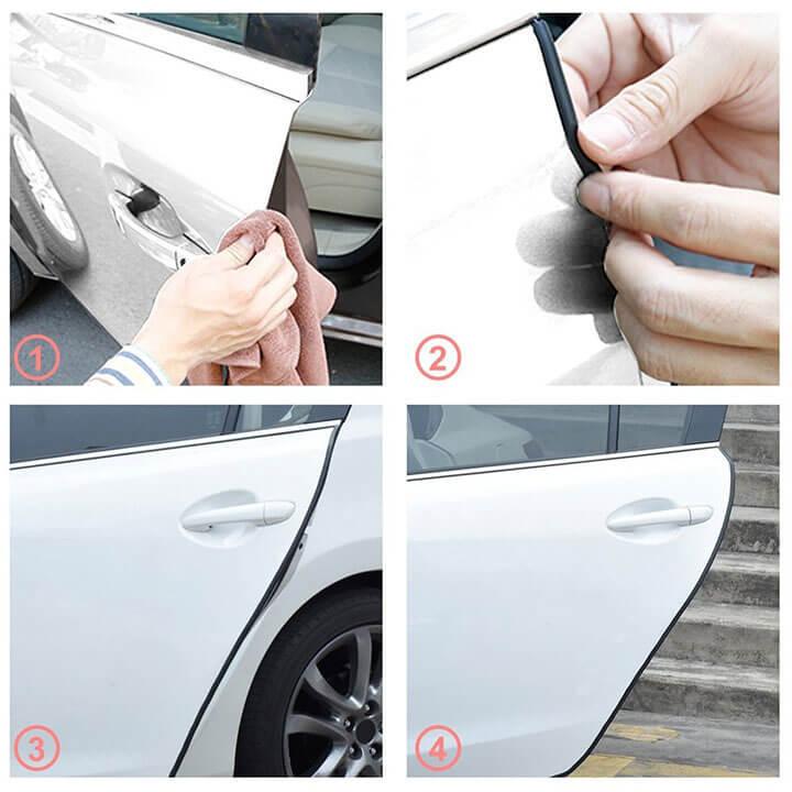 Gioăng cao su chống ồn cho xe ô tô 4