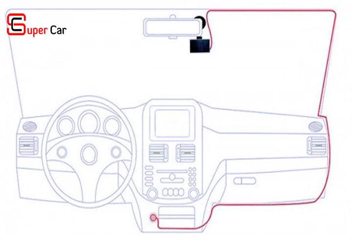 Hướng dẫn lắp đặt camera hành trình 1